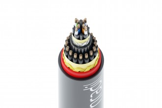 Cat.7 Hybrid cable for rail vehicles Image 2